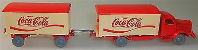 Coca Cola Mercedes 5000 Hängerzug rot beige IMU H0 1 87 #30# å