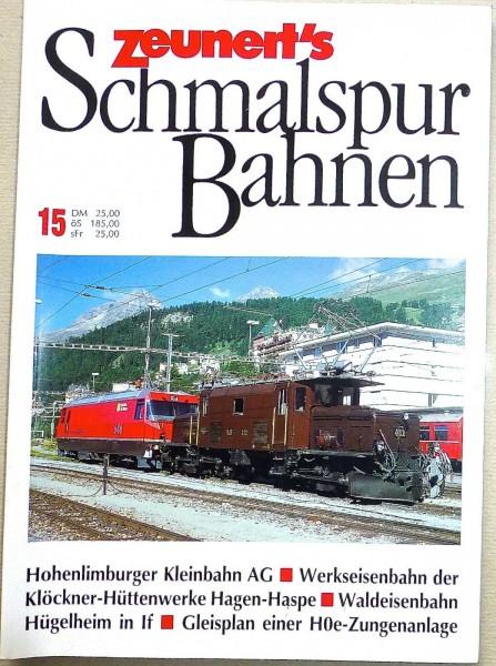 15 Zeunert's Schmalspur Bahnen å *