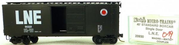 Micro Trains Line 20930 L.N.E. 8019 40' Standard Boxcar 1:160 OVP #H019 å