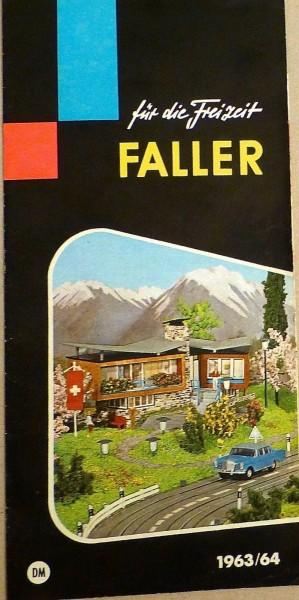 FALLER für die Freizeit 1963/64 å *