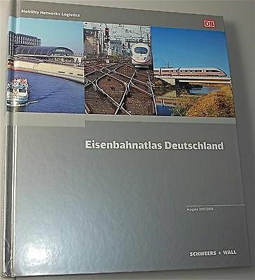Eisenbahnatlas Deutschland Ausgabe 2007 2008 å *