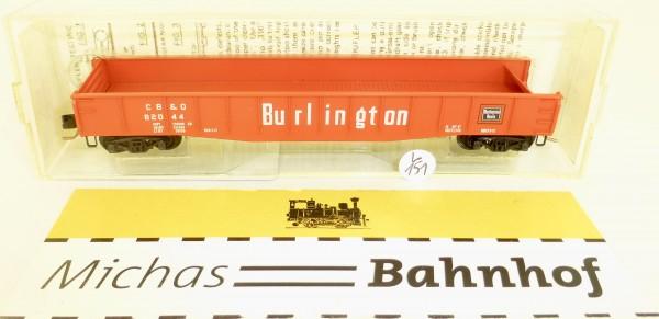 MICRO TRAINS 46030 Burlington CB&O 82044 50' Gondola drop ends N 1:160 #151L