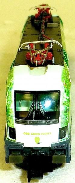 ÖBB 1016 023 Elektrolok Green Point Kunstdruck Hobbytrain H2781 N 1:160 OVP å *
