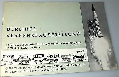 Berliner Verkehrsausstellung 1964 å