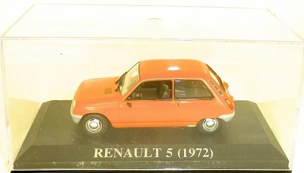 Renault 5 (1972) orange 1:43 OVP UM2 å *