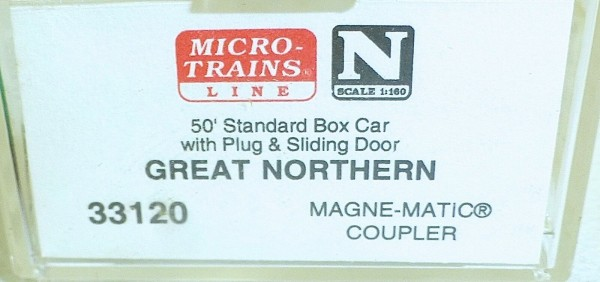 Micro-Trains Line 33120 Great Northern 50' Standard Box Car N 1:160 A å *