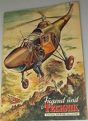Jugend und Technik 3te Jahrgang Heft 2 1955