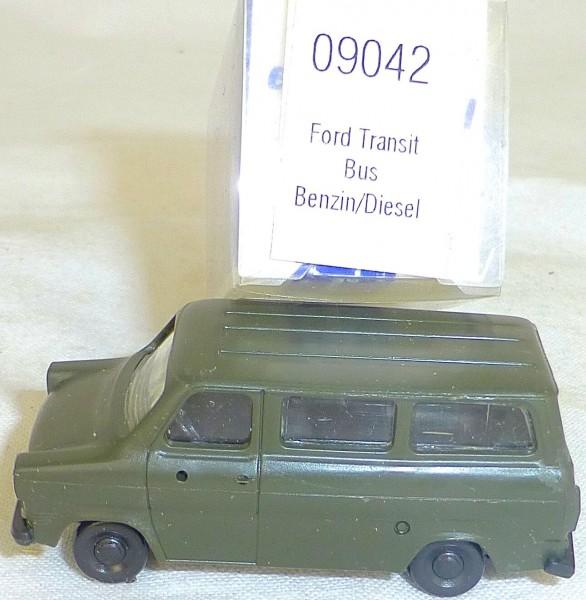 Ford Transit armee grün Benzin Diesel IMU EUROMODELL 09042 H0 1:87 OVP #LL1 å