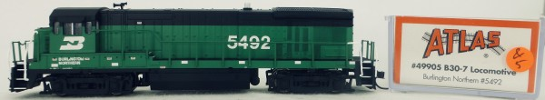 Atlas 49905 B30-7 Burlington Northern 5492 Diesellok Decoder Ready OVP N 1:160 #05& å