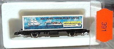 800 Jahre Hamburger Hafen, Containerwagen Kolls 90721 Märklin 8615 Z 1/220 *391*