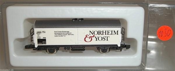 Norheim und Yost Kolls 897 Märklin 8600 Spur Z 1:220 1030 å