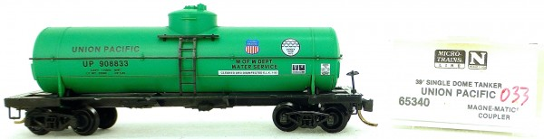 Micro Trains Line 65340 UP 908833 39' Single Dome Tank Car 1:160 OVP #i033 å