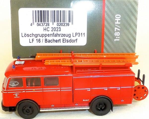 Löschgruppenfahrzeug LP311 LF16 Bachert ELSDORF HEICO HC2023 OVP NEU µ