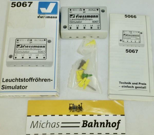 Leuchtstoffröhrensimulator Leuchtstoffröhren Simulator Viessmann 5067 OVP LJ2 å