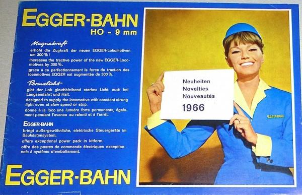 EGGER Neuheiten 1966 å *