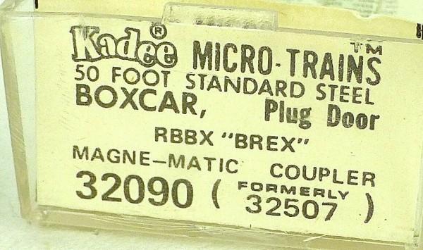 50´ Standard Boxcar BURLINGTON BREX 79577 Micro Trains Line 32090 N 1:160 C å*