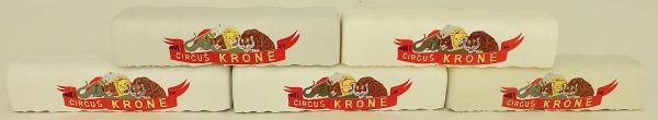 Arnold 5 Planen Circus Krone ROT N 1:160 å