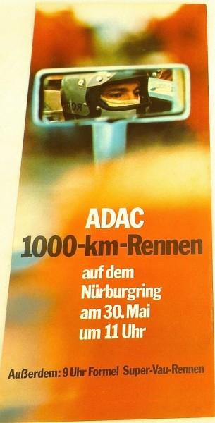 30. Mai 11 Uhr Formel Super Vau ADAC 1000 km Rennen Nürburgring FLYER å V06 *