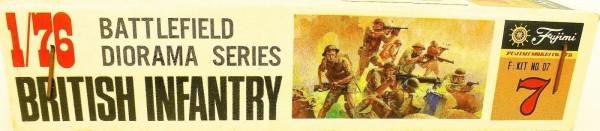Fujimi D7 British Infantry Battlefield Diorama Series 1:76 OVP HS3 å *