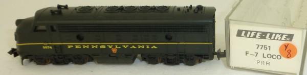 Life Like 7751 Pennsylvania 9874 F-7 Diesellok N 1:160 OVP Y8 å *