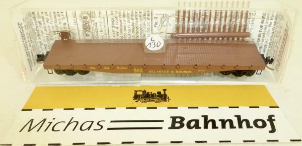 MICRO TRAINS 45210 Delaware & Hudson 16509 50' Flatcar Fishbelly Side N 1:160 #130L å