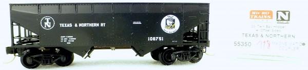 Micro Trains Line 55350 Texas & Northern 108751 33' Twin Hopper OVP 1:160 #K118 å