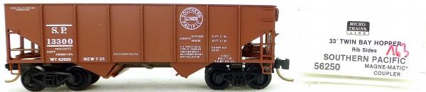 Micro Trains Line 56250 Southern Pac 13300 33' Twin Bay Hopper 1:160 OVP #i163 å