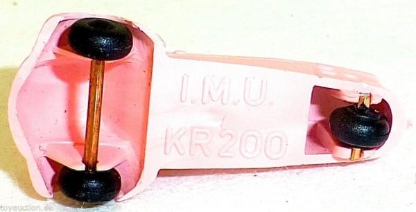 Cabriolet KR200 ROSA Kabinenroller Messerschmitt IMU 1:87 H0 Kleinserie HM2 å *