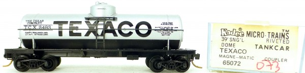 Micro Trains Line 65072 TEXACO 2493 39' Single Dome Tank Car 1:160 OVP #i073 å