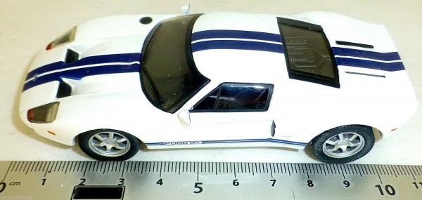 Ford GT40 Sportwagen PKW weiß 006 NEU 1:43 µ *