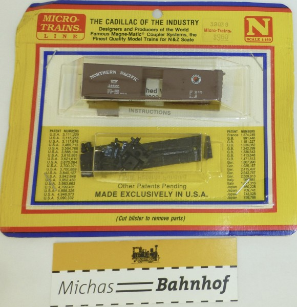 BLISTER KIT Northern Pacific 38827 Güterwagen Bausatz Micro 39039 N 1:160 HC6 å