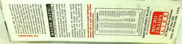50´ Standard Boxcar LOUISVILLE & NASHVILLE Micro Trains Line 32140 N 1:160 C å*