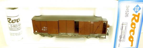 ÖBB Gedeckter Güterwagen 16817-4 GGm/s Roco 34526 OVP H0e å *