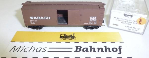 MICRO TRAINS 39120 WABASH 80027 40' Sheathed Wood Boxcar N 1:160 OVP #02L å