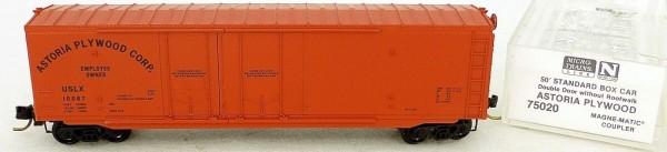 Micro Trains Line 75020 Astoria Plywood USLX 10067 50´ Box Car 1:160 OVP #E å *