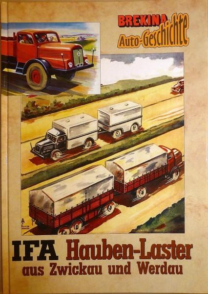 IFA Hauben-Laster aus Zwickau und Werdau Brekina Auto Geschichte 11011 HT6 å *