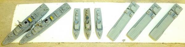 8 Modelle Neptun T6 Argonaut 306 307 etc Schiffsmodell 1:1250 SHP586 å *