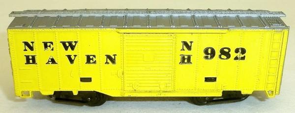 NEW HAVEN NH 982 gelb Güterwagen ARNOLD rapido 200 Spur N HS4 å *