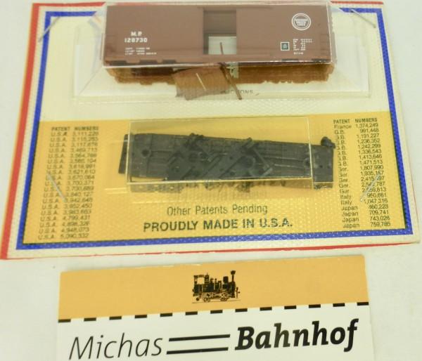 BLISTER KIT M.P. 128730 Boxcar Bausatz Micro Trains 24199 N 1:160 HC6 å