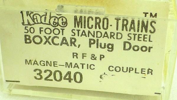 50´ Standard Boxcar RF&P 2649 Micro Trains Line 32040 N 1:160 C å*