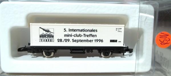 5.Int.mini-club-Treffen Containerwg Kolls 96711 Märklin 8615 Spur Z 1/220*1038#å