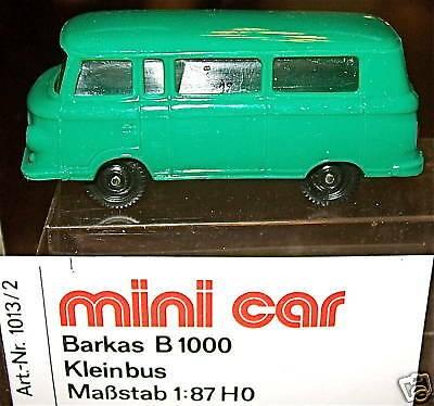 Barkas B 1000 grün mini car OVP 1/87 å