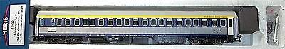 NS Schlafwagen Typ P TTC blau silber EpV HERIS 12099 H0 1:87 NEU B2C2 µ *