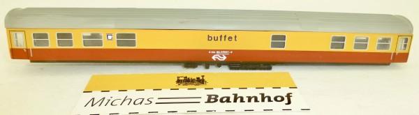 NS Buffet 6184 88-40007-9 Waggongehäuse rot gelb KLEINSERIE TT 1:120 å *