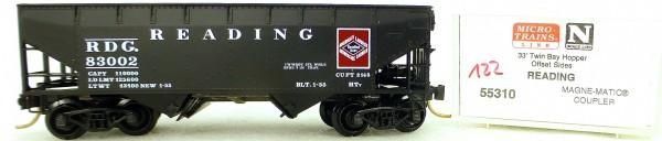 Micro Trains Line 55310 Reading 83002 33' Twin Hopper OVP 1:160 #K122 å