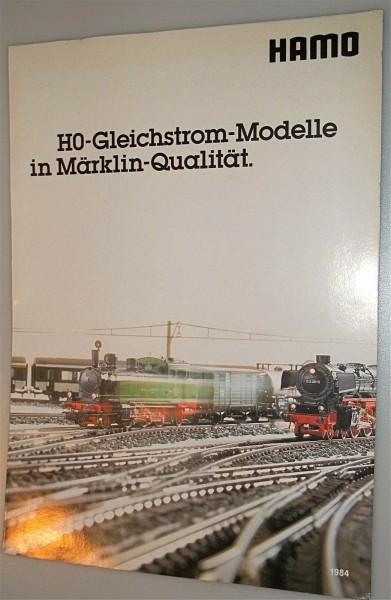 HAMO Neuheitenblatt 1984