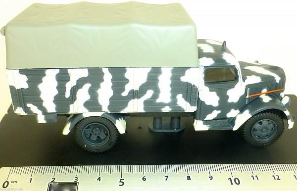 Opel Blitz Wehrmacht Pritschen LKW 1944 Canvas Covered 1:43 NEU å UR3 *