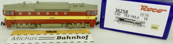 CSD 753 193.2 Diesellok DSS EpV Roco 36258 NEU OVP TT 1:120 HL6 µ*