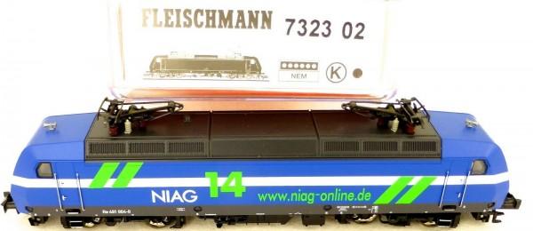 Fleischmann 7323 02 Re 481 004-0 Ellok NIAG NEM N 1:160 OVP µ *