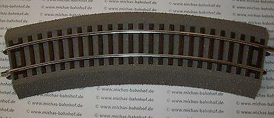 H0 Roco Line 42522 R2 gebogen mit Gleisbett neuwertig TOP RocoLine KG6 å *
